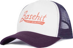 Basehit 181.BU01.15 Off White/Purple