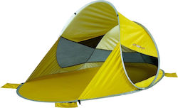 OZtrail Personal Pop Up Yellow