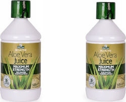Optima Aloe Vera Juice Maximum Strength 2 x 500ml