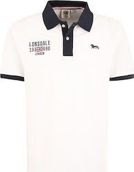 Lonsdale Capton 113605 White