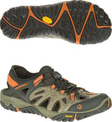 MERRELL ALL OUT BLAZE SIEVE BROWN J32835