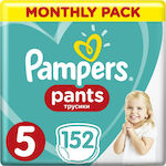 Pampers Monthly Pack Pants Νο 5 (12-18kg) 152τμχ