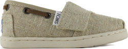 Toms Bimini Natural Burlap Tn 10007520 Μπεζ