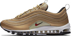"Nike Air Max 97 OG QS ""Metallic Gold"" 885691-700"