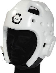 ΚΑΣΚΑ TAEKWONDO HEAD GUARD FOAM WTF COMPETITON SMA (WTF Approved) - WHITE