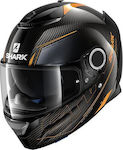 Shark Spartan Carbon Silicium Carbon Orange/Anthracite