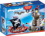 Playmobil Pirates: Exclusive Lighthouse Pirate Ship with Underwater Mist
