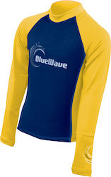 Bluewave Rash Guard Blue/Yellow 64631