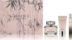 Gucci Bamboo Eau de Parfum 50ml & Body Milk 50ml & Miniature 7.4ml
