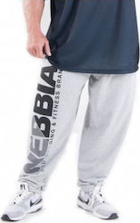 Nebbia Hardcore Fitness Sweatpants Grey