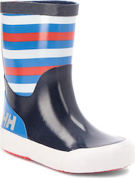 Γαλότσες HELLY HANSEN - Nordvik Stripe 114-11.689 Evening Blue/Blue Water/Grenadine/Off white/Reflective (Shiny)