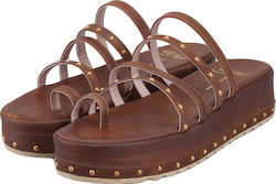 S.PIERO 5P/15 BROWN LEATHER