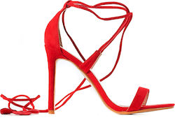 Public Desire Heel Sandals Venus-Red (Πέδιλα Γυναικείο Synthetic Polyester Red - Venus)