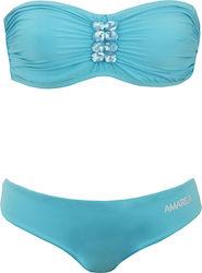 Set Bikini (162 προϊόντα) Σχέδιο Top  Strapless - Ειδικά Χαρακτηριστικά  Με  Ενίσχυση e2bd68e42d6