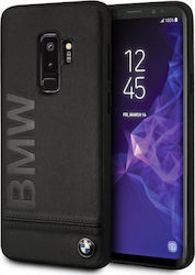 BMW Signature Leather Hard Μαύρο (Galaxy S9+)