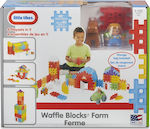 Little Tikes Waffle Blocks Farm 80τμχ