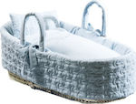 Picci Carry Cot Moses Basket Dili Best Astrid Blue