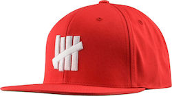 Undefeated UF 5 STRIKE SP15 CAP 100 % COTTON WOVEN SLUF531109 - RED