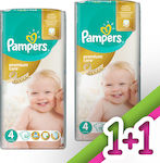 Pampers Premium Care No 4 (8-14kg) 2*52τμχ