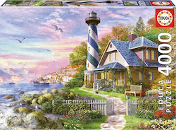 Lighthouse At Rock Bay 4000pcs (17677) Educa