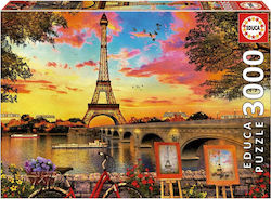Sunset In Paris 3000pcs (17675) Educa