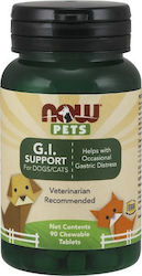Now Foods Pets G.I. Support x 90 ταμπλέτες