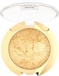 Golden Rose Diamond Breeze Shimmering Baked Eyeshadow 01 Gold