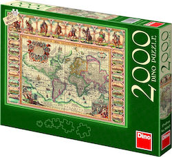 Historical Map World 2000pcs (56106) Dino
