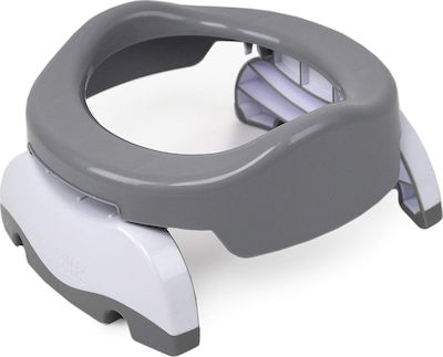 Potette Plus 2 in 1 Travel Potty & Trainer Seat Γκρι