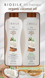 Farouk Silk Therapy Organic Coconut Oil Set