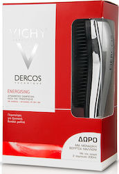 Vichy Dercos Shampoo Energising 2x 200ml & Hair Brush