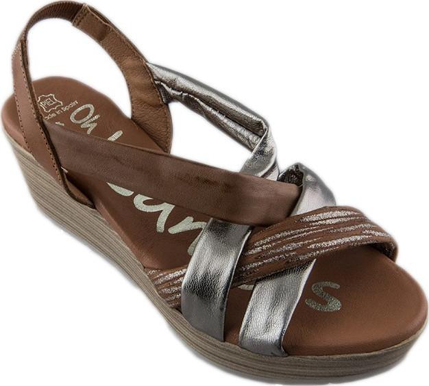 Oh My Sandals 3887 Platina - Skroutz.gr 3ec858bc76e