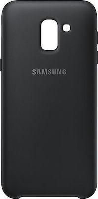 Samsung Dual Layer Cover Μαύρο (Galaxy J6)
