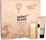 Mont Blanc Emblem Absolu Edt 100ml + Edt 7,5ml + Shower Gel 100ml