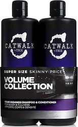 Tigi Catwalk Your Highness Elevating Shampoo 750ml & Conditioner 750ml