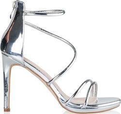 fbdc05712cd πεδιλα ασημι - Γυναικεία Πέδιλα Envie Shoes Ψηλά - Skroutz.gr