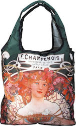 ΤΣΑΝΤΑ ΓΙΑ ΨΩΝΙΑ SHOPPING BAG FRIDOLIN ART NOUVEAU CHAMPENOIS 40522