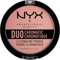 Nyx Professional Makeup Duo Chromatic Illuminating Powder Crushed Bloom 6gr