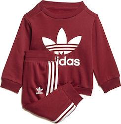 be5862f5732 Adidas Trefoil Crew Track Suit DL8636