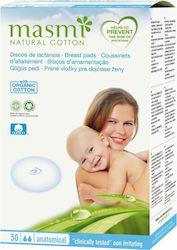 Masmi Organic Cotton Breast Pads 30pcs