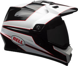 Bell MX-9 Adventure Mips Stryker Black / White