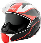 Aprilia Modular Helmet 2018 White-Black-Red