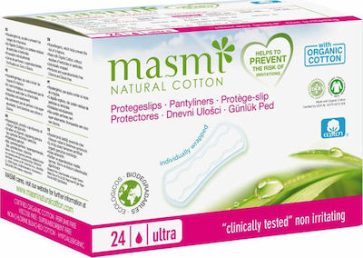 Masmi Organic Cotton Ultrathin Partyliners Ultra 24τμχ