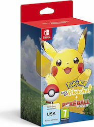 Pokemon Let's Go, Pikachu! (with Poke Ball Plus) Switch