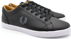 FRED PERRY SNEAKER B3058 102 ΜΑΥΡΟ