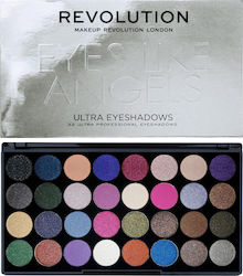Makeup Revolution Ultra 32 Eyeshadow Palette Eyes Like Angels