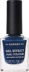Korres Gel Effect Nail Colour 84 Indigo Blue