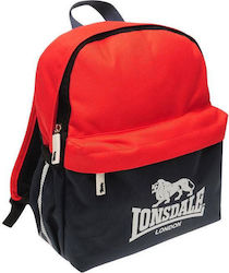 Lonsdale Mini Backpack 712035 Navy/Red