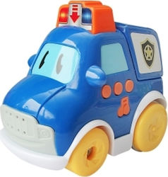 Spielmaus Baby Car Blue Press & Go Car