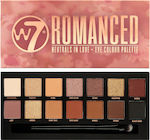 W7 Cosmetics Romanced Eye Colour Palette